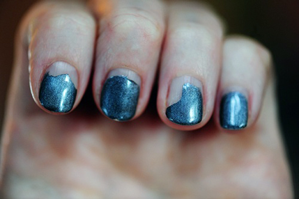 Cool Shellac Nail Designs Images