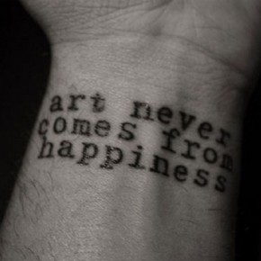 Cool Wrist Tattoo Quotes From Chuck Palahniuk Pictures