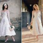 Corset Wedding Dress Tea Length 2013 Pictures