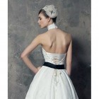 Corset Wedding Dress Tea Length Ideas Pictures