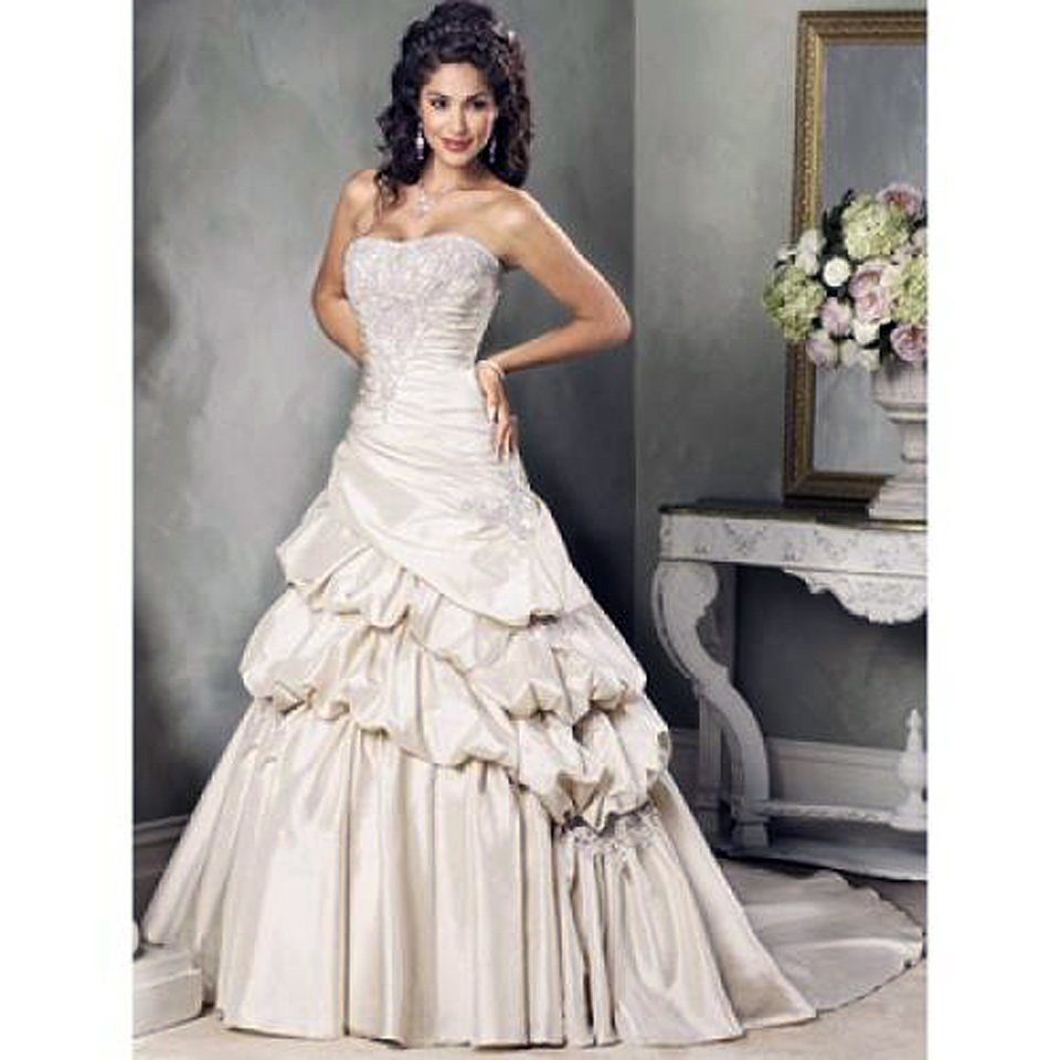 Corset wedding dresses beach for sale pictures fashion for Wedding dress for sale used