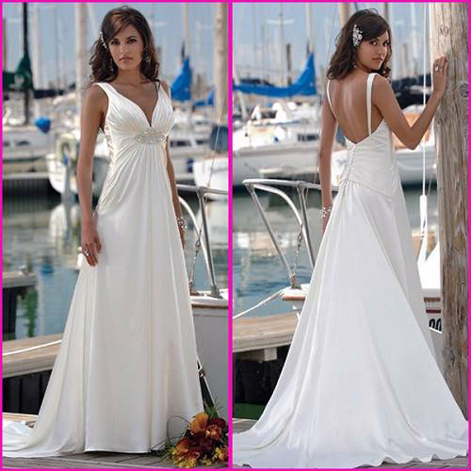 Corset Wedding Dresses Beach Ideas - Inofashionstyle.com