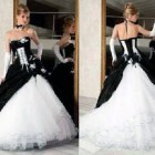 Corset Wedding Dresses Black And White Gallery Pictures