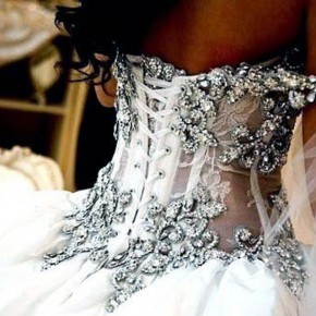 Corset Wedding Dresses Bling Uk Pictures
