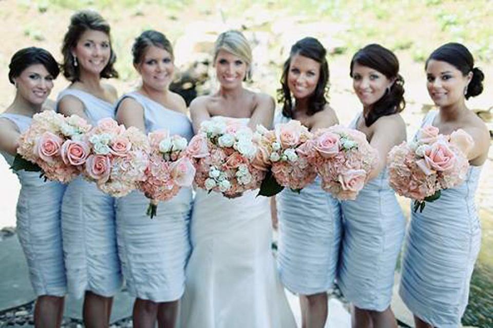 Country Chic Wedding Brdesmaid Dresses Ideas