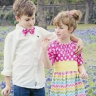 Country Style Dresses In Patterns For Kids Pictures