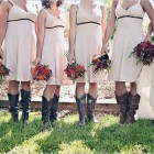 Country Themed Wedding Bridesmaid Dresses 2013 Pictures