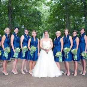 Country Themed Wedding Bridesmaid Dresses Images Pictures