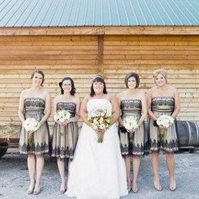 Country Wedding Bridesmaid Dress Ideas 2013 Pictures