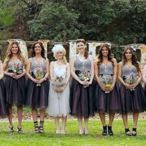 Country Wedding Bridesmaid Dress Ideas Styles Pictures
