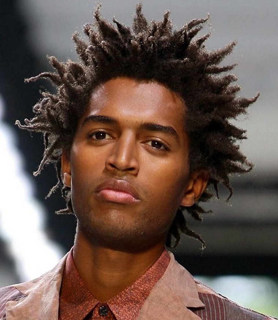 Curly Haircuts For Black Men Young