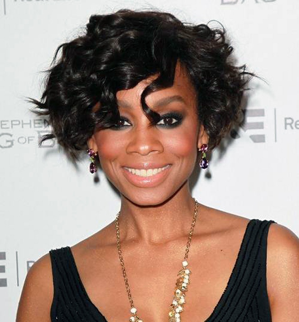 Curly Updos For Black Women Ideas