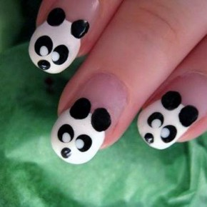 Cute Animal Nail Designs Panda Pictures