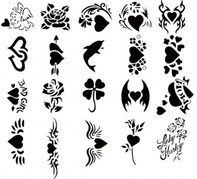 Cute Custom Tattoos Temporary Designs