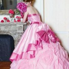 Cute Pink Dress 2013 Pictures