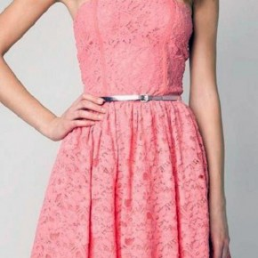 Cute Pink Dress Tumblr Pictures