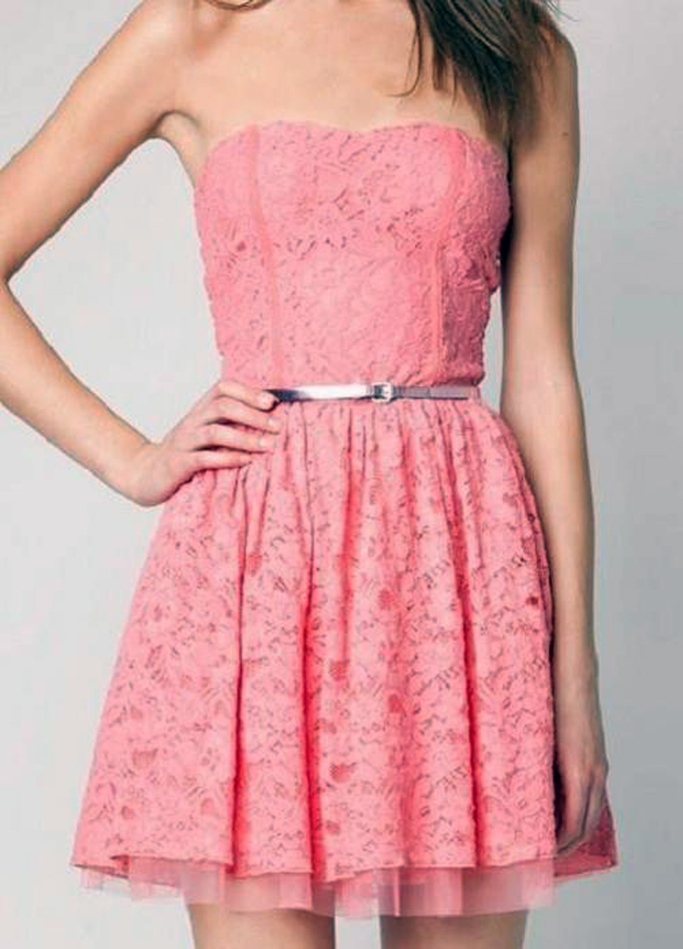 Cute pink dress tumblr Style me pink fashion show