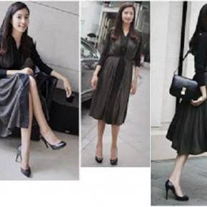 Dark Black Dresses Pictures