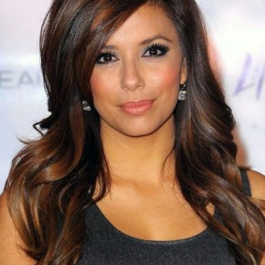Dark Brown Hair Color With Highlights Pictures