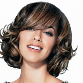 Dark Brown Hair With Highlights Around Face Pictures