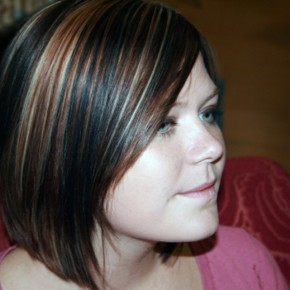 Dark Brown Hair With Highlights Underneath Pictures