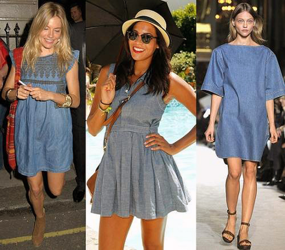 Denim Outfits Women For Summer