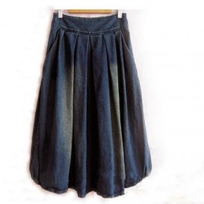Denim Skirts For Women Long Pictures