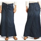 Denim Skirts For Women Online Pictures
