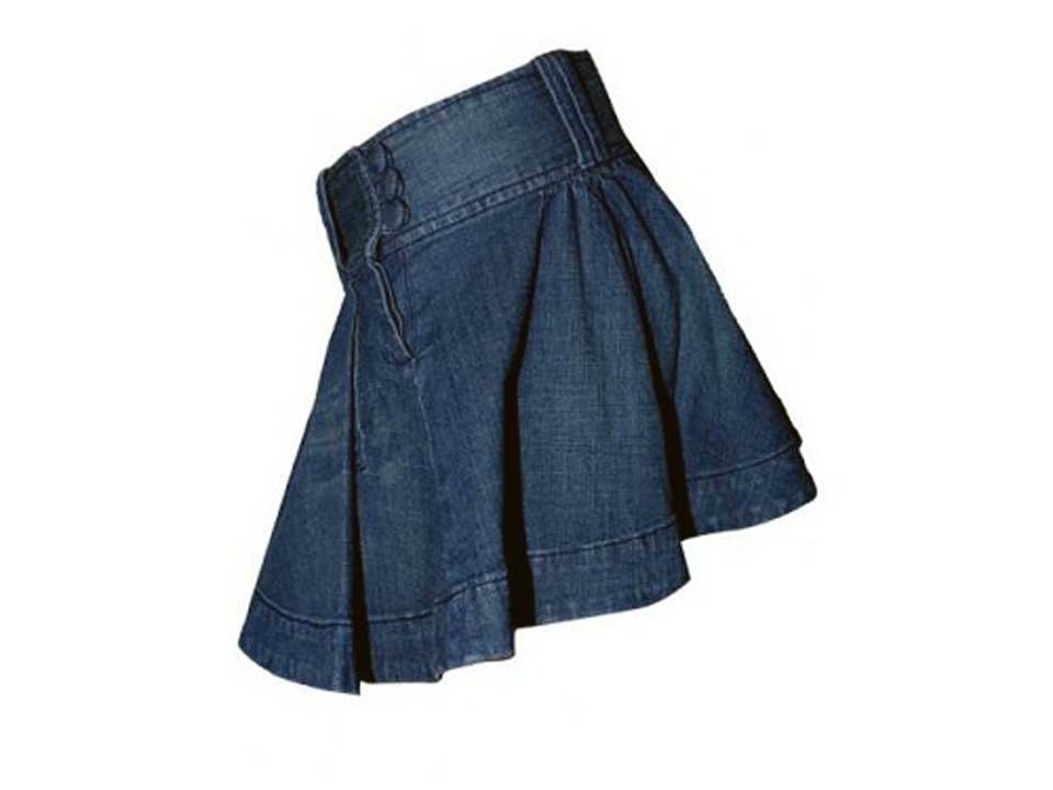 Denim Skirts For Women Petite