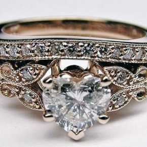 Diamond Butterfly Engagement Rings Women 2013 Pictures