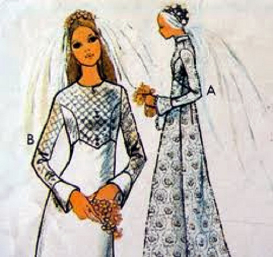 Dress Patterns Wedding Dress Sketches