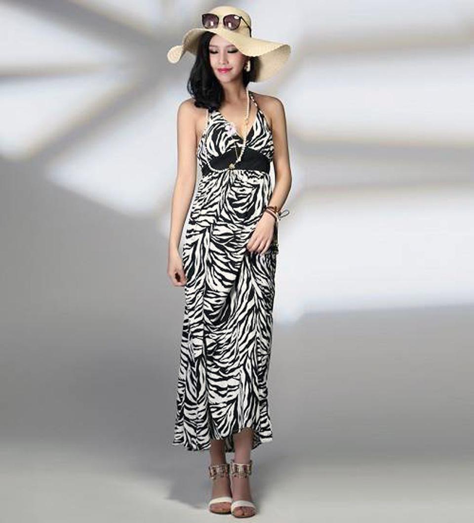 Dresses With Zebra Print Midi Pictures