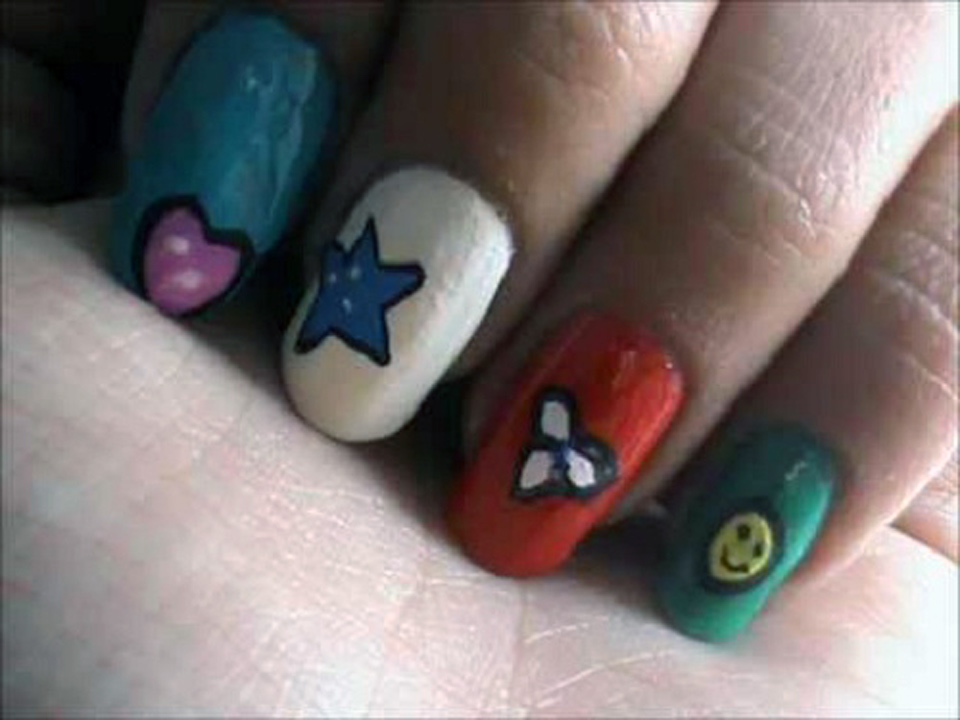 easy nails designs for kids - photo #10