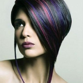 Edgy Highlights Hairstyles Images Pictures