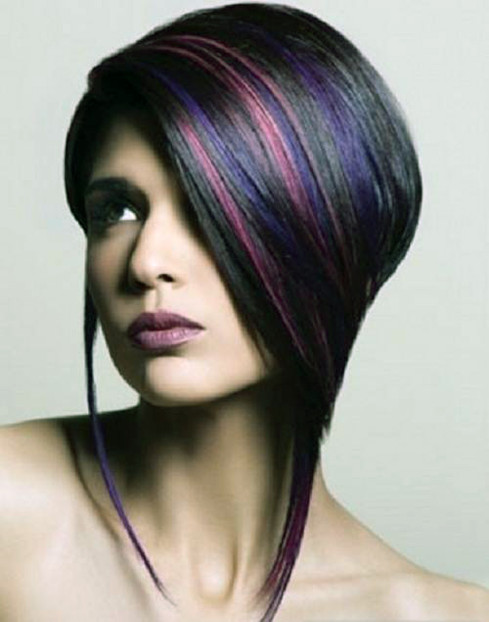 Edgy Highlights Hairstyles Images