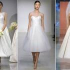 Elegant Tea Length Wedding Dresses 2013 Pictures