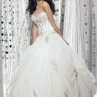 Elegant White Long Dresses Ball Gown Pictures