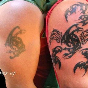 Fantastic Tribal Scorpion Cover Up Tattoo Pictures