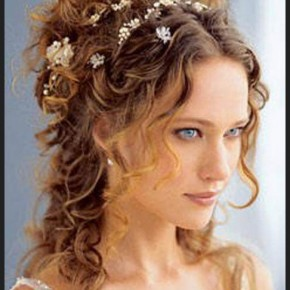 fashion and hairstyles, Curly Wedding Hairstyles French Fashion Modern Hairstyle