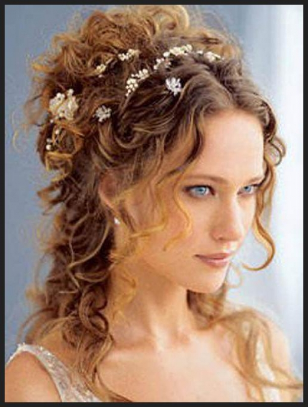 Fashion Of Hairstyle Curly Wedding Hairstyles French
