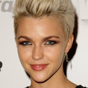 fashionable short hairstyles 2011, Trendy Short Blonde Hairstyles for Women 2011