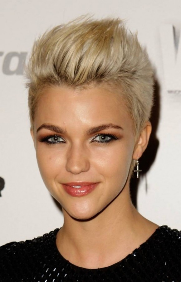 Fashionable Short Hairstyles hair color trend