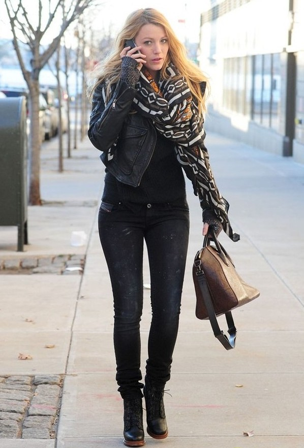 e0561aadf30 Fashionable Winter Outfits – The Fashion Dealer  Blake Lively  Casual Winter  Outfit Inspiration