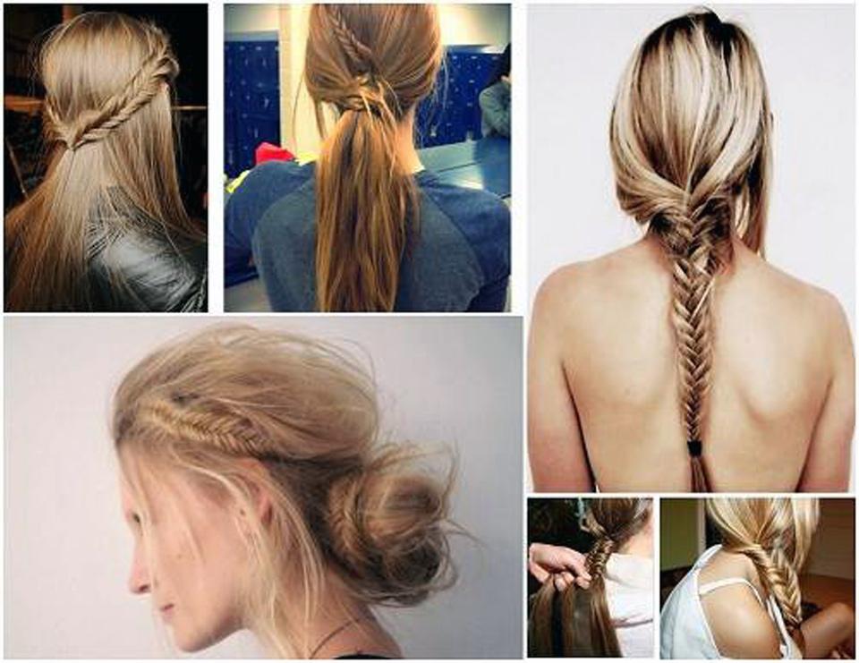 Fishtail Braid Hairstyles Ideas