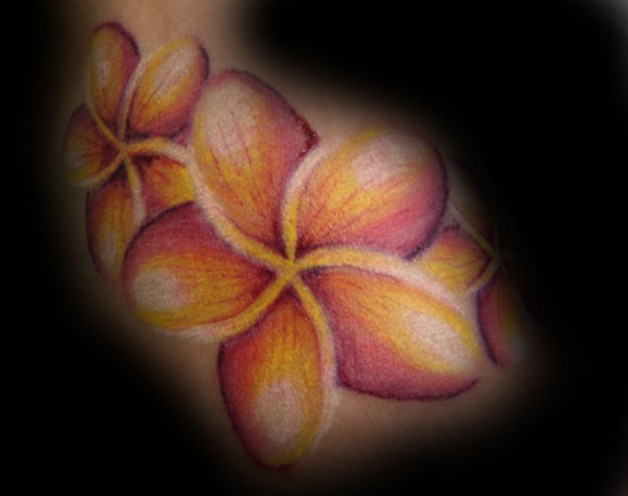 Flower Awesomeness Tattoo Paper Design
