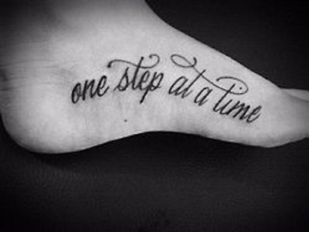 Foot Airbrush Temporary Quote Tattoo Pictures