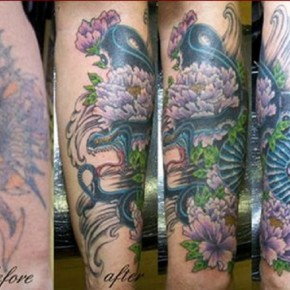 Forearm Cover Up Tattoo Ideas Pictures