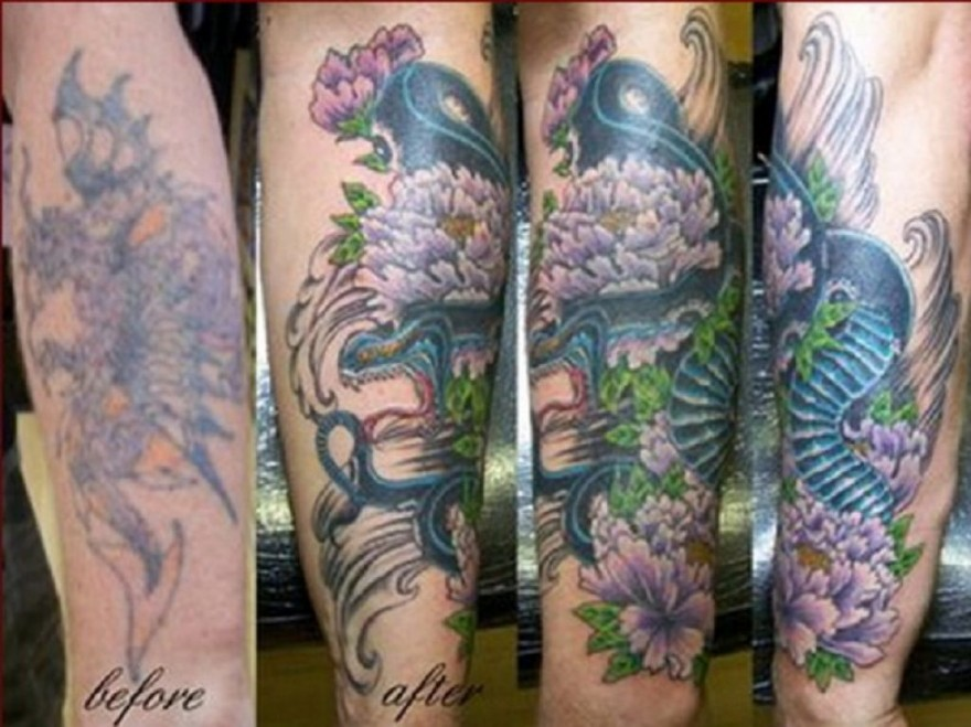 Forearm cover up tattoo ideas pictures fashion gallery for Tattoo foundation cover up