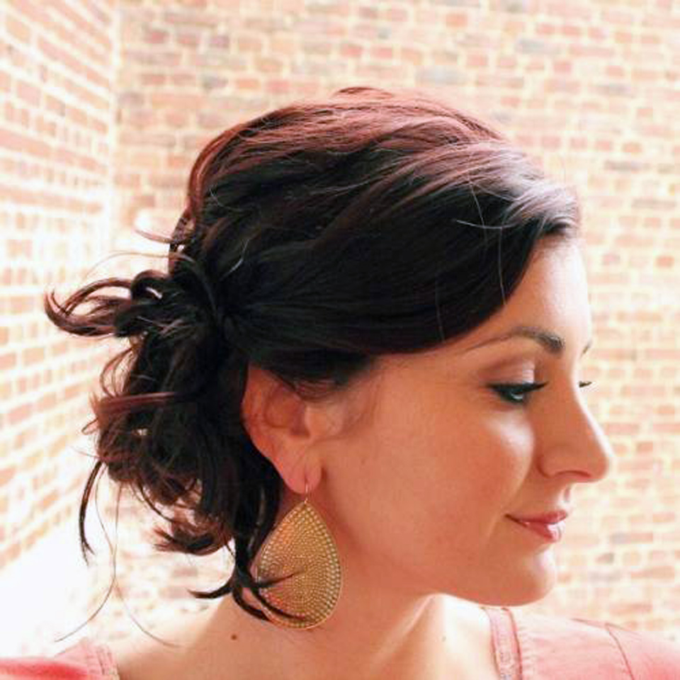 Front Updo For Short Fine Hair Ideas