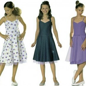 Girls Dresses Patterns Sewing Pictures